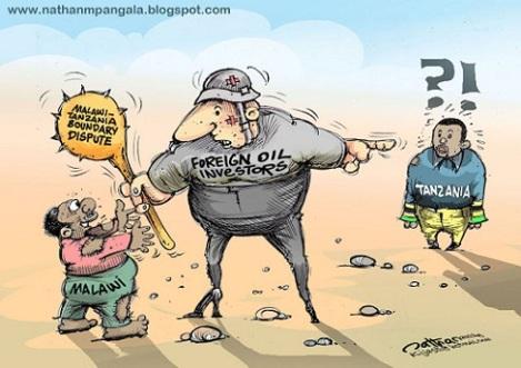 Malawi-Tanzania Cartoon, Nathan Mpangala