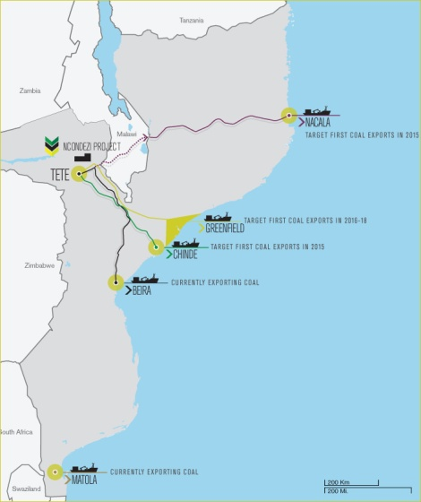 Rail Connection between Tete and Nacala