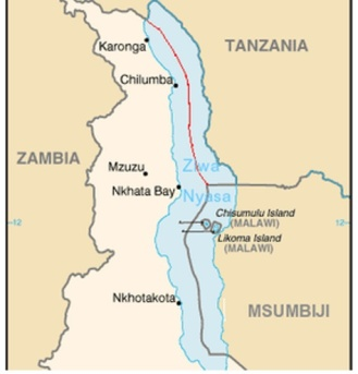 Tanzania redraws its borders to include Lake Malawi