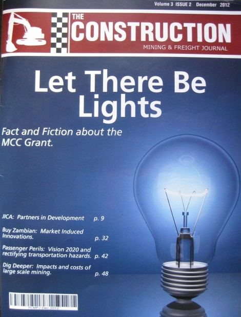 The Construction, Mining and Freight Journal December 2012 Edition (Volume 3, Issue 2)
