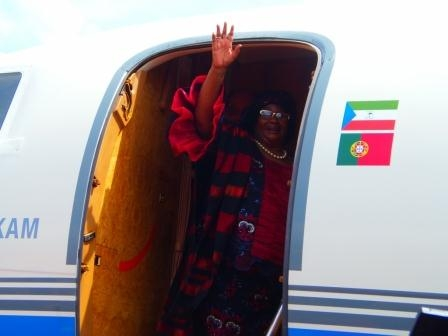 Joyce Banda's decision to go to the South America-Africa Summit in Equatorial Guinea came under fire yesterday as the nationwide civil service strikes had not been resolved (Credit: The Maravi Post)