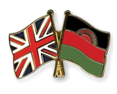 Great Britain and Malawi Flag
