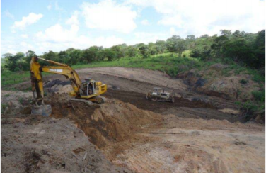 Opening of the Malcoal Nkachira Mine Pit (Courtesy of Intra Energy)