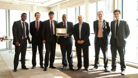 The London Stock Exchange welcomes SacOil Holdings Limited to AIM (8 April 2011, courtesy of the London Stock Exchange)