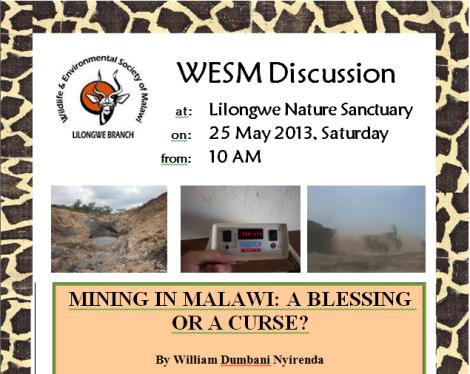 WESM Mining Talk W Nyirenda