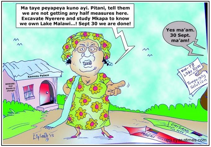 ... Banda was clear about Malawi's position (Courtesy of Nyasa Times