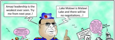 Lip Smile Peter Mutharika