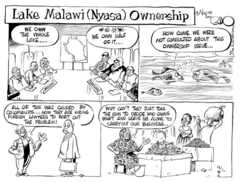 Lake Malawi Ownership - Godfrey Mwampembwa (Courtesy of IQ4News)