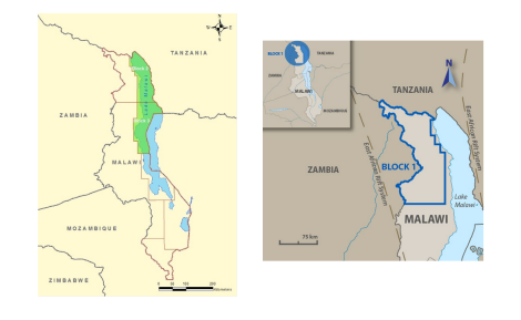 4 companies given rights to explore 6 blocks along Malawi rift (images courtesy of SacOil and Surestream Petroleum)