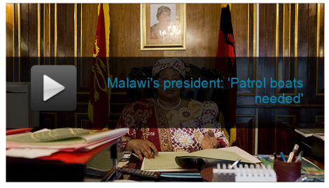 Joyce Banda talks to Southern Africa Correspondent for the Daily and Sunday Telgraph. She reveals the Government of Malawi's decision to purchase armed patrol vessels for Lake Malawi (Courtesy of The Telegraph)