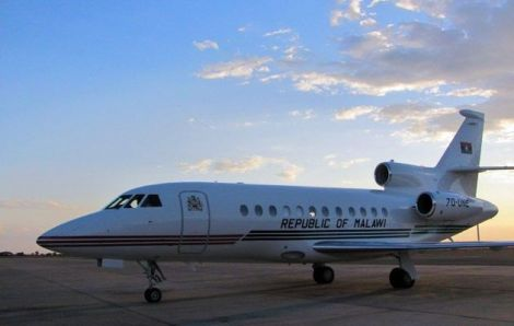 Malawi's former presidential jet (Courtesy of The Times Live)