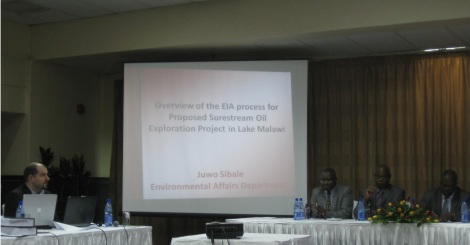 Public hearing at Capital Hotel, Lilongwe, 27 January 2014 (photograph taken by participant)