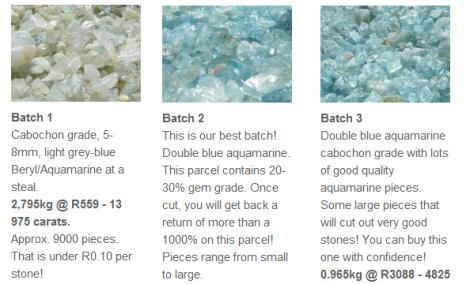 Silver Hills Gemstones from Malawi (Visit http://bronnrocks.co.za/)