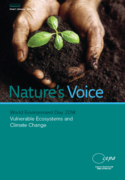 CEPA's publication Nature's Voice can be downloaded here