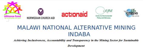 2014-11 Malawi National Alternative Mining Indaba