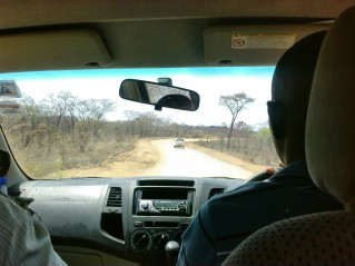 Drive to Kayelekera Uranium Project, Paladin Africa