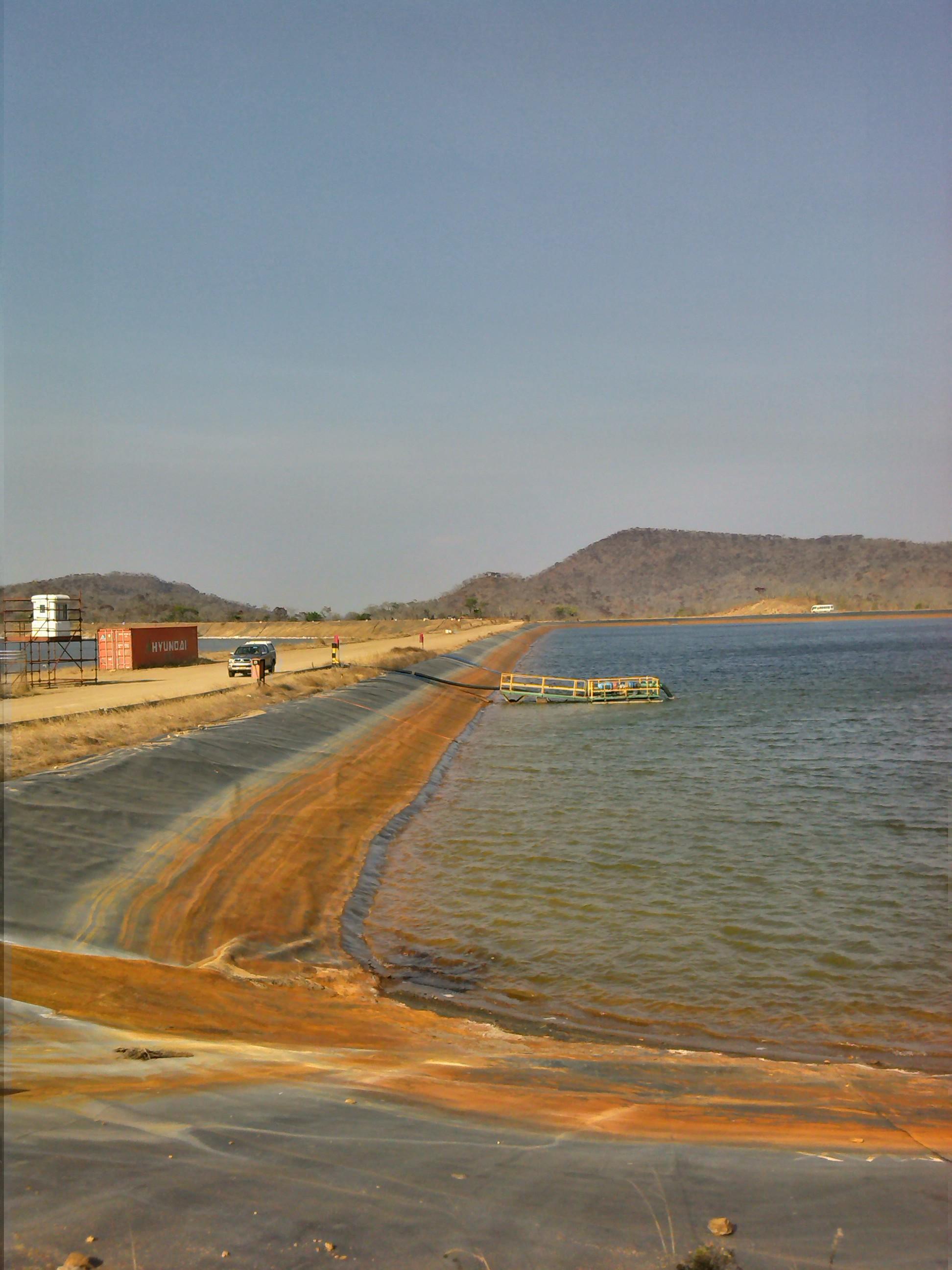 Kayelekera Uranium Mine Tailings Storage Facility