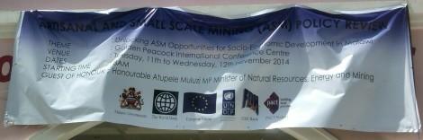 ASM Draft Policy Review Symposium, Lilongwe, November 2014