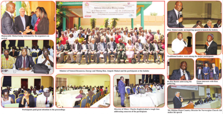 Images from Mining Review (Issue No. 20, December 2014, Marcel Chimwala)