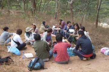 Group photo at Zumwanda Mine (Photo taken by Chikomeni Manda)