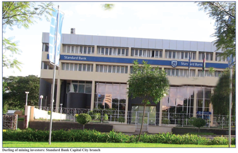 Standard Bank, Lilongwe (Image taken from January 2015 Mining Review)