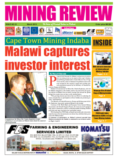 2015-03 Mining Review Coverpage