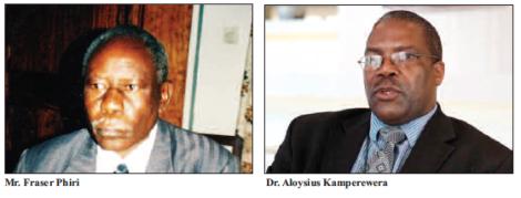 2015-03 Mining Review Fraser Phiri Aloysius Kamperewera