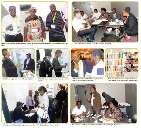 2015-03 Mining Review Malawi's ASMs at Mining Indaba