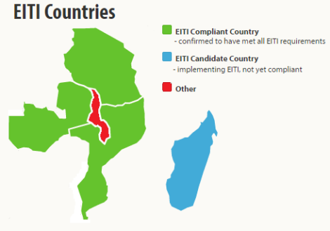 Malawi's neighbours, Mozambique, Tanzania and Zambia are already EITI Compliant.