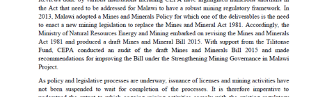 Jobs & Opportunities   Mining in Malawi   Page 3