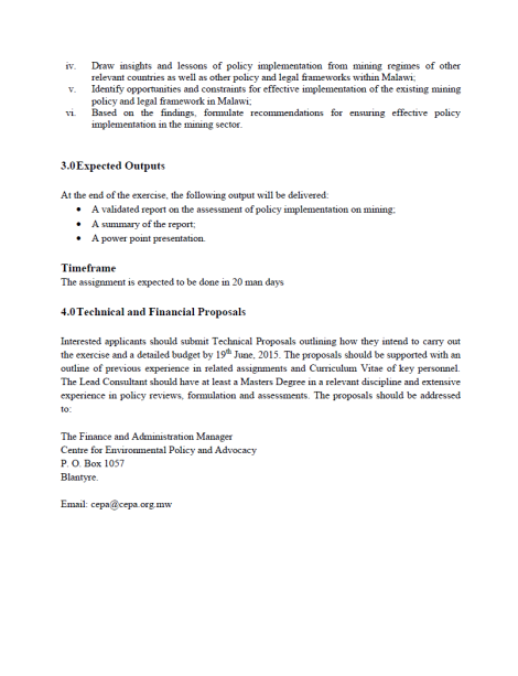 2015-06-10 CEPA Consultancy RFP 2