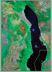 Satellite Image of Northern Malawi (Taken from Malunga's Technical File in the June 2015 Mining Review)