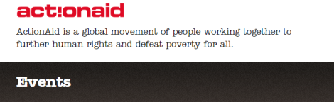 ActionAid Events