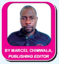 Marcel Chimwala Editor of Mining Review