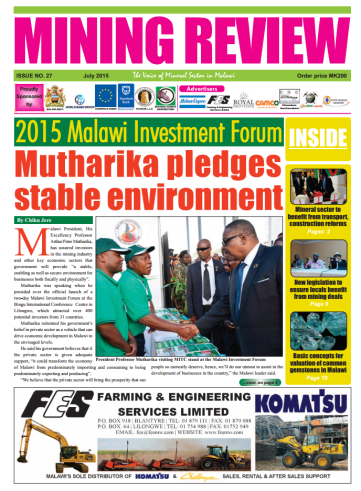 2015-07 Mining Review Cover