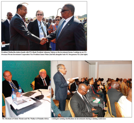 2015-07 Mining Review Malawi Investment Forum Images