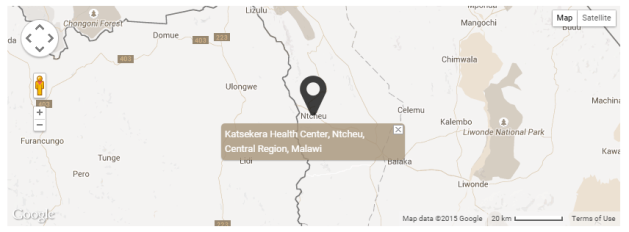 Map of Nyala Mines in Ntcheu, Malawi (Courtesy of GIA)