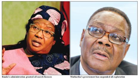 2015-10 Mining & Trade Review Politics of Oil Joyce Banda and Arthur Peter Mutharika