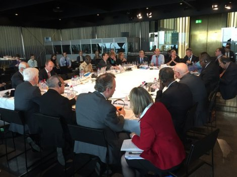 2015-10 EITI Board Meets in Bern Switzerland and approves Malawi's EITI Application