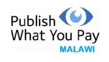 PWYP Malawi Logo