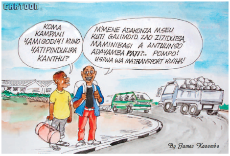2015-12 Mining & Trade Review Cartoon Malawi Mining