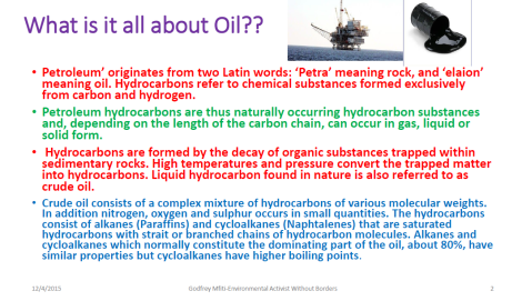 2015 Godfrey Mfiti Is Oil Drilling in Lake Malawi Sustainable Dev Slide 2