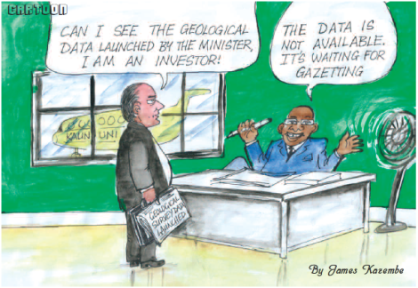 2016-01 Mining & Trade Review Cartoon Gazetting Geo Data
