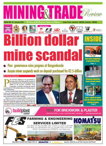 2016-01 Mining & Trade Review Cover