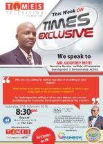 2016-02-27 Godfrey Mfiti Times TV Interview Poster