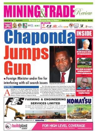2016-04 Mining & Trade Review Malawi Headline