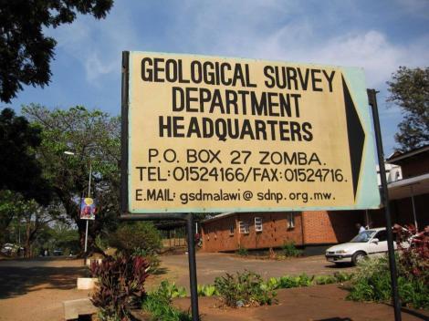 Geological Survey Department of Malawi (Courtesy of GAF AG)
