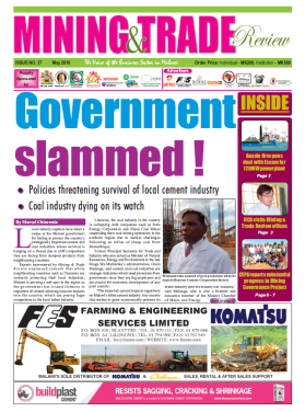 2016-05 Mining & Trade Review Cover