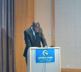 Charles Kaphwiyo, Director of Mines (retired)