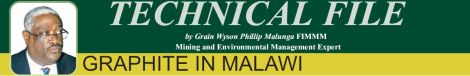 201608 Malawi Mining & Trade Review Technical File Grain Malunga Graphite in Malawi